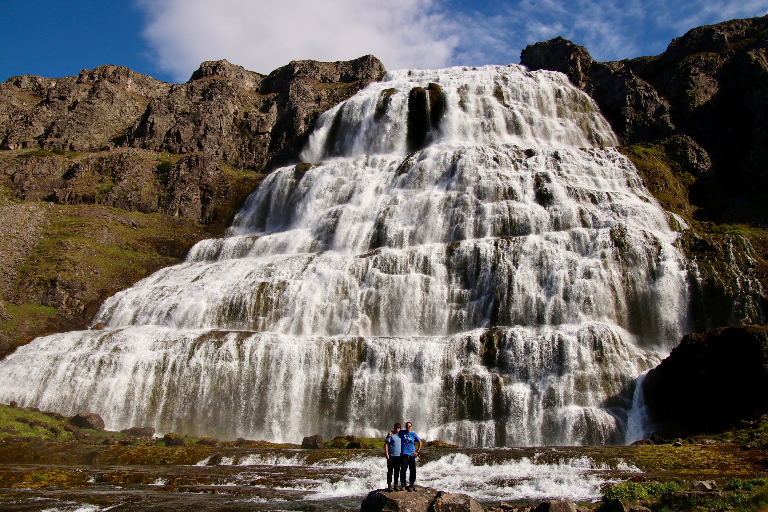 Dynjandi-Waterfall