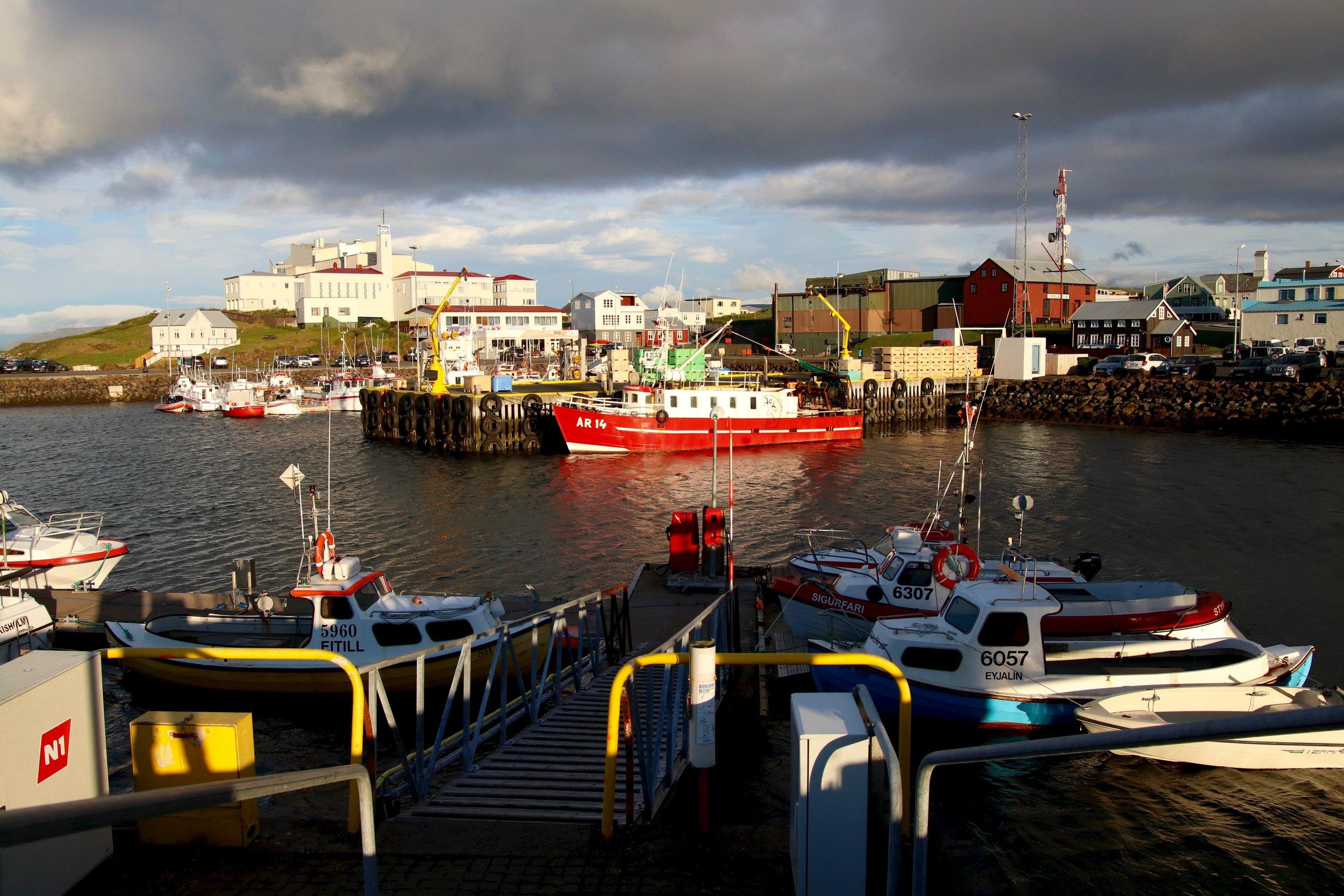 Stykkisholmur-harbor