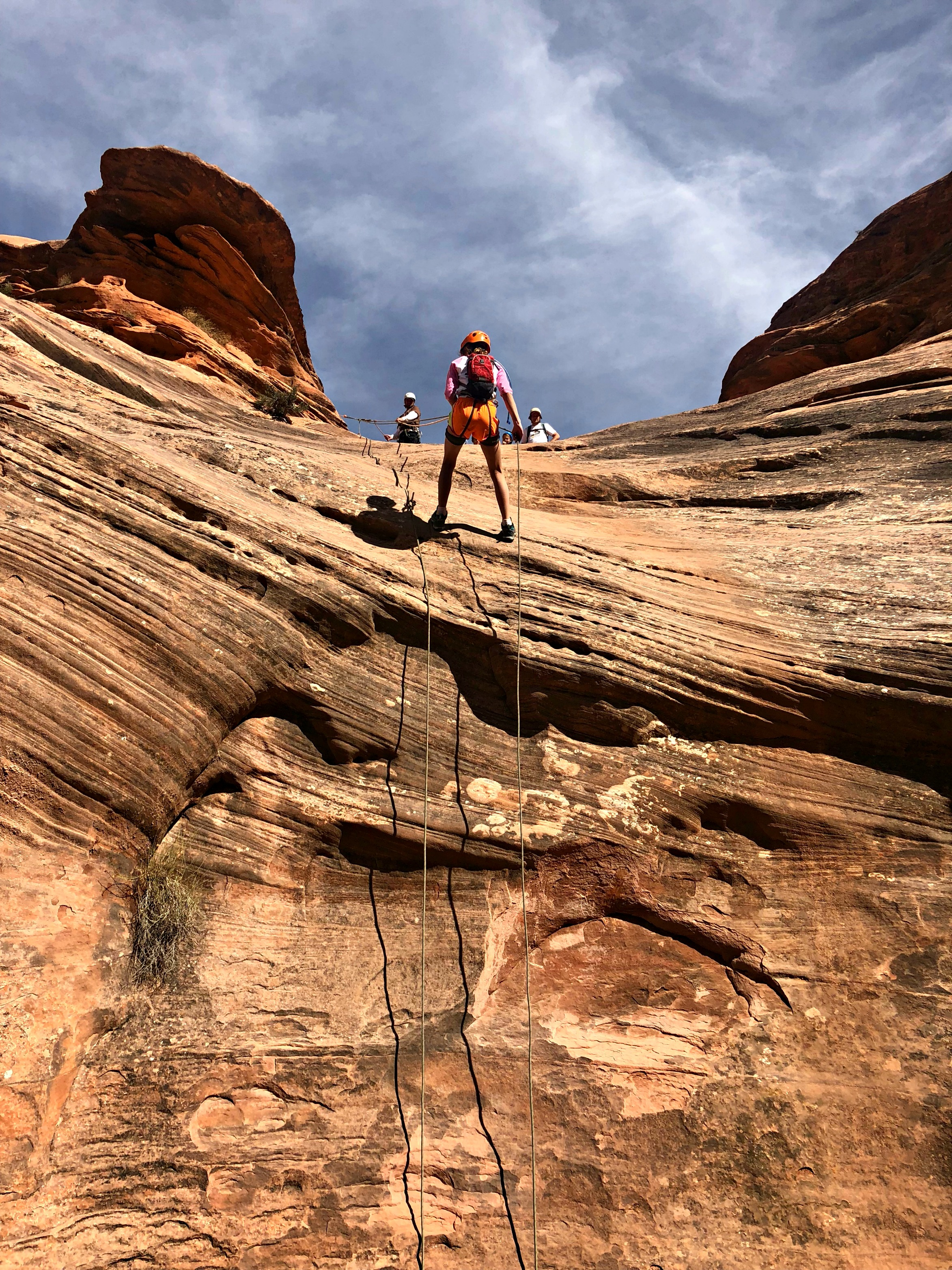 rappelling-with-kids-near-zion-national-park