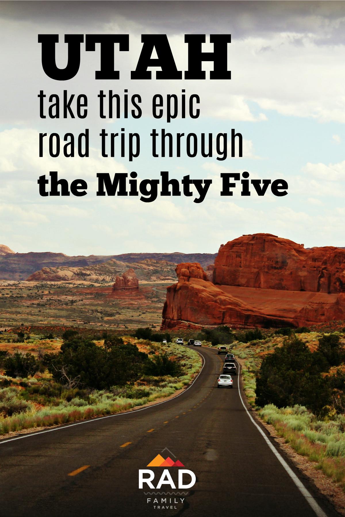 road trip through utah national parks
