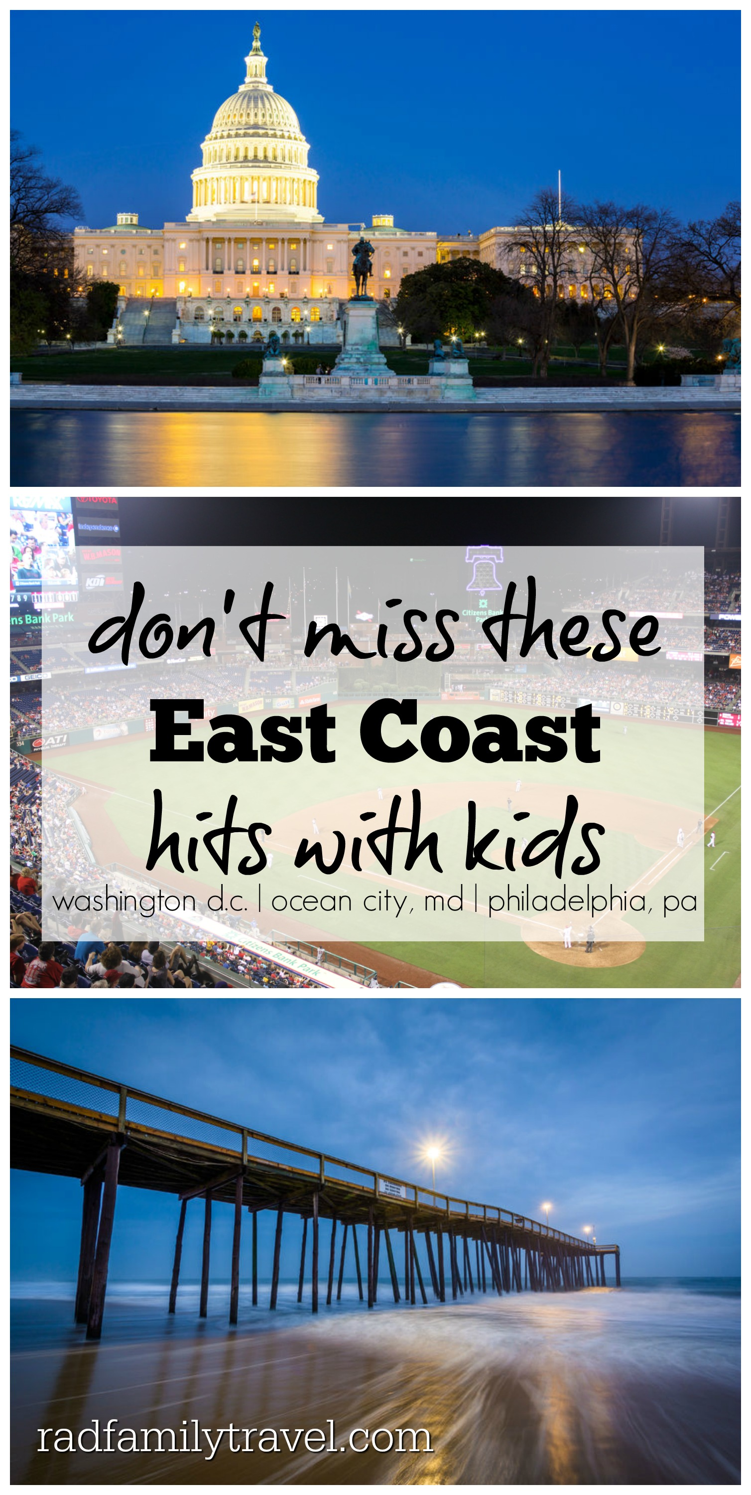 east coast cities with kids