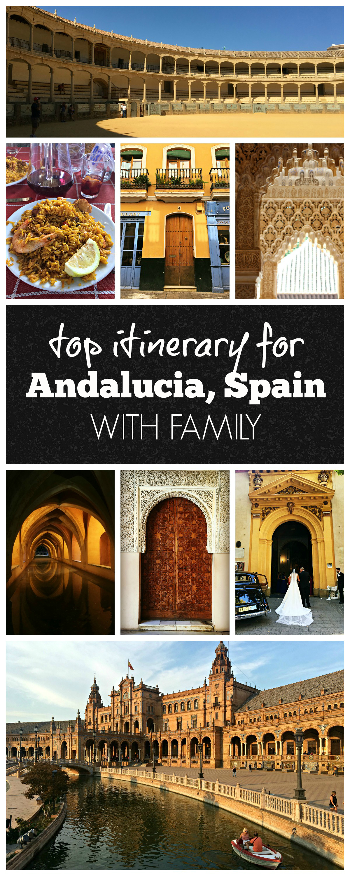 andalucia spain itinerary