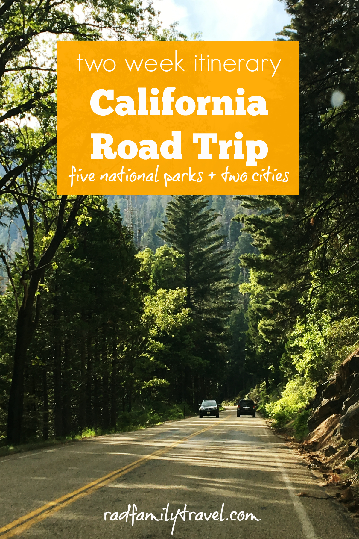 Budgeting and planning California road trip