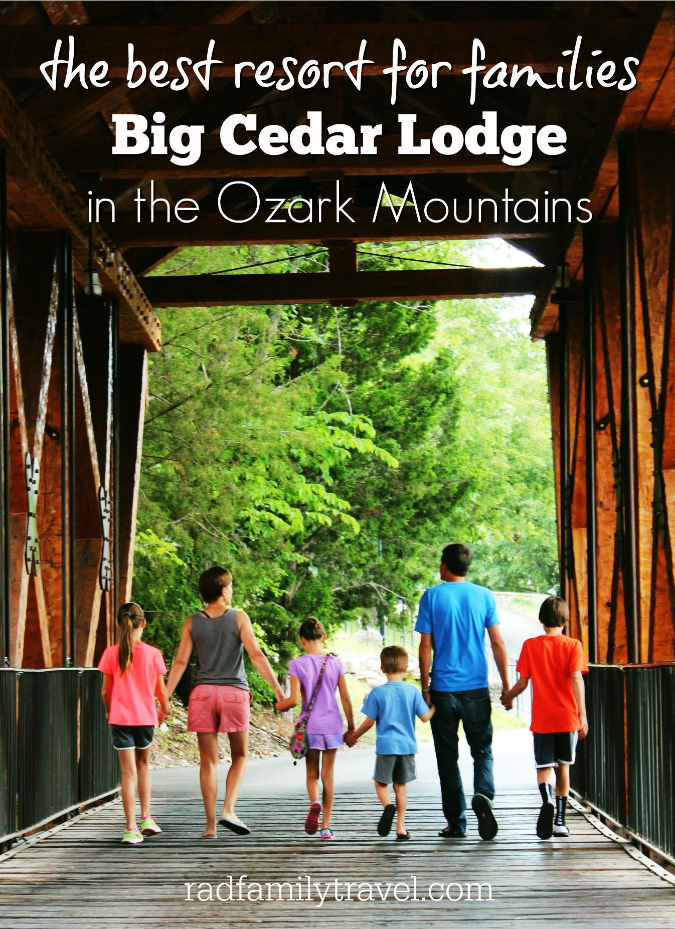 big cedar lodge with kids