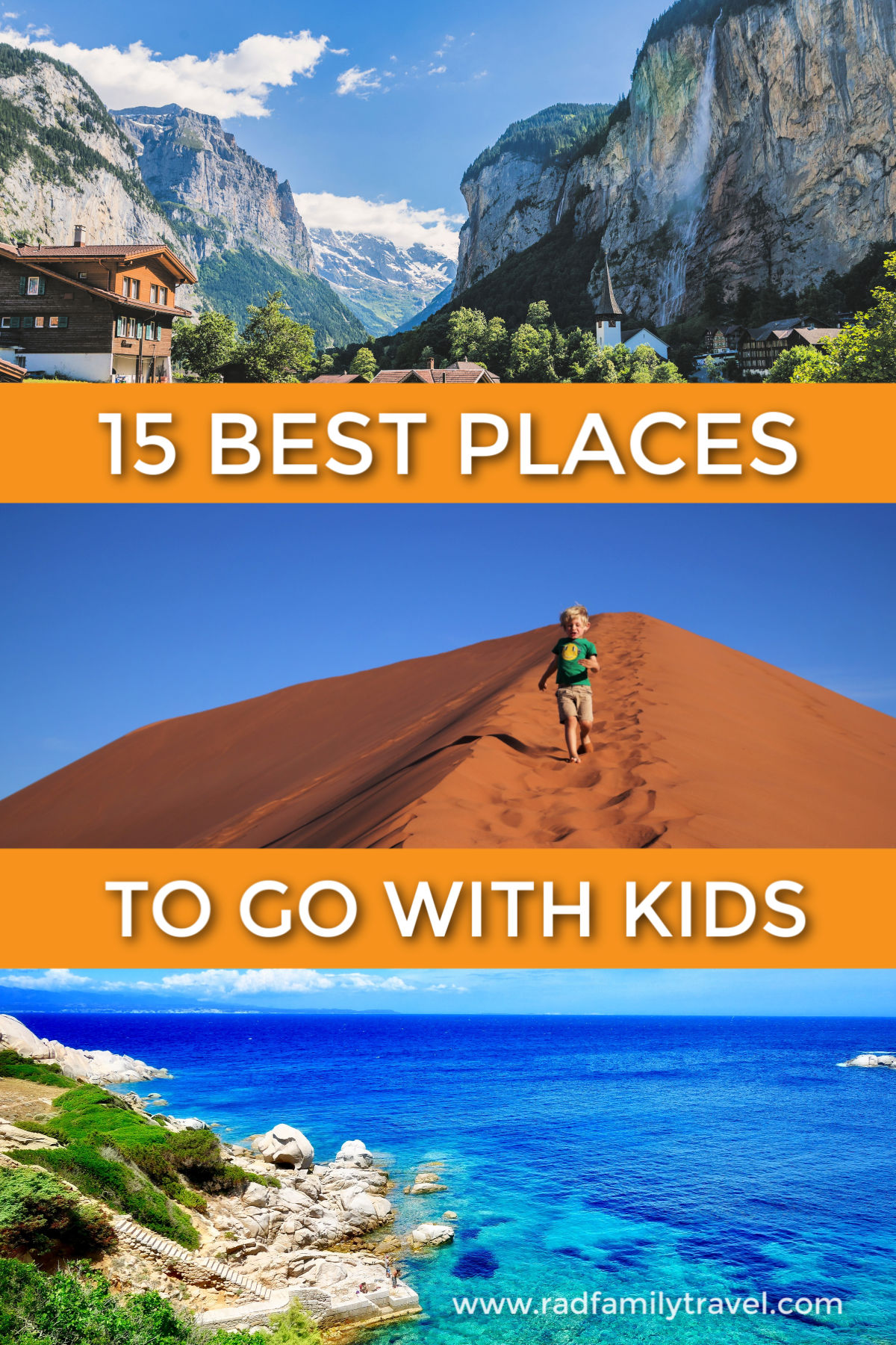 15 best places to go with kids