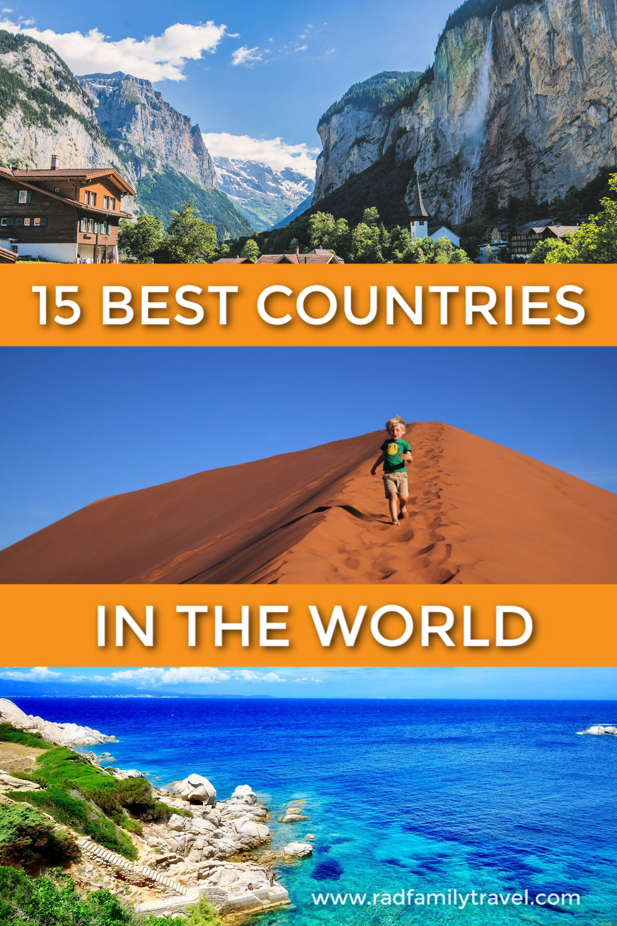 15 best countries in the world