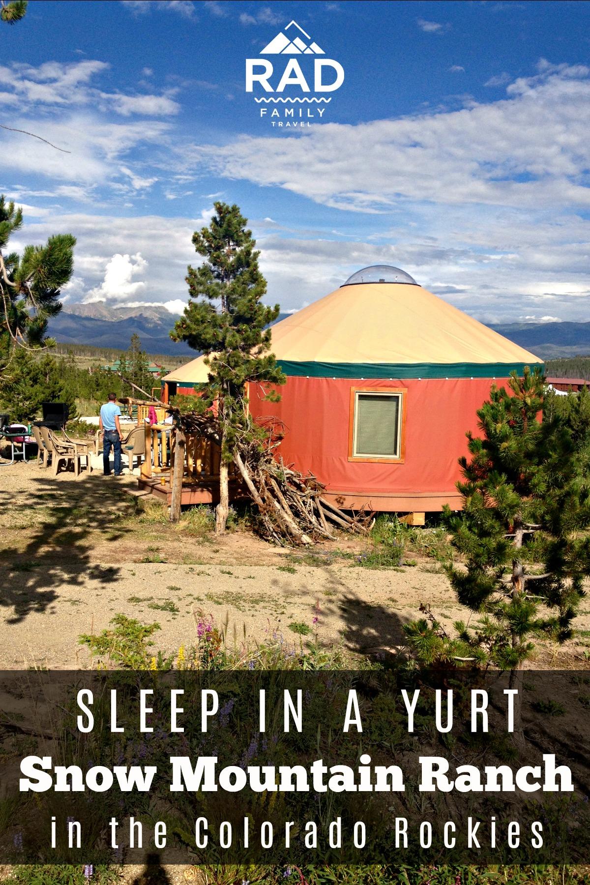 snow mountain ranch yurts
