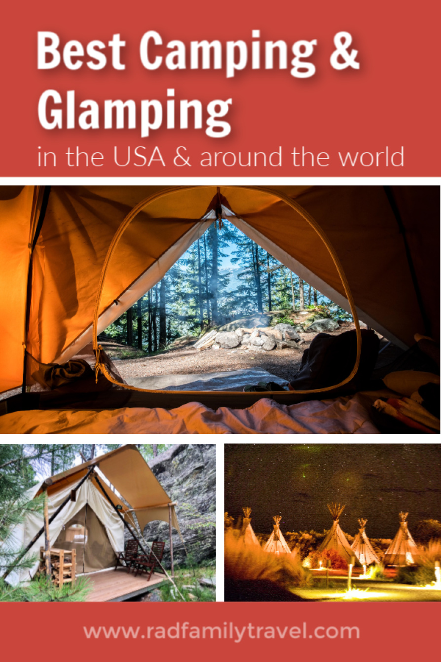 best camping glamping usa world
