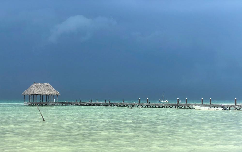 rainstorm punta coco