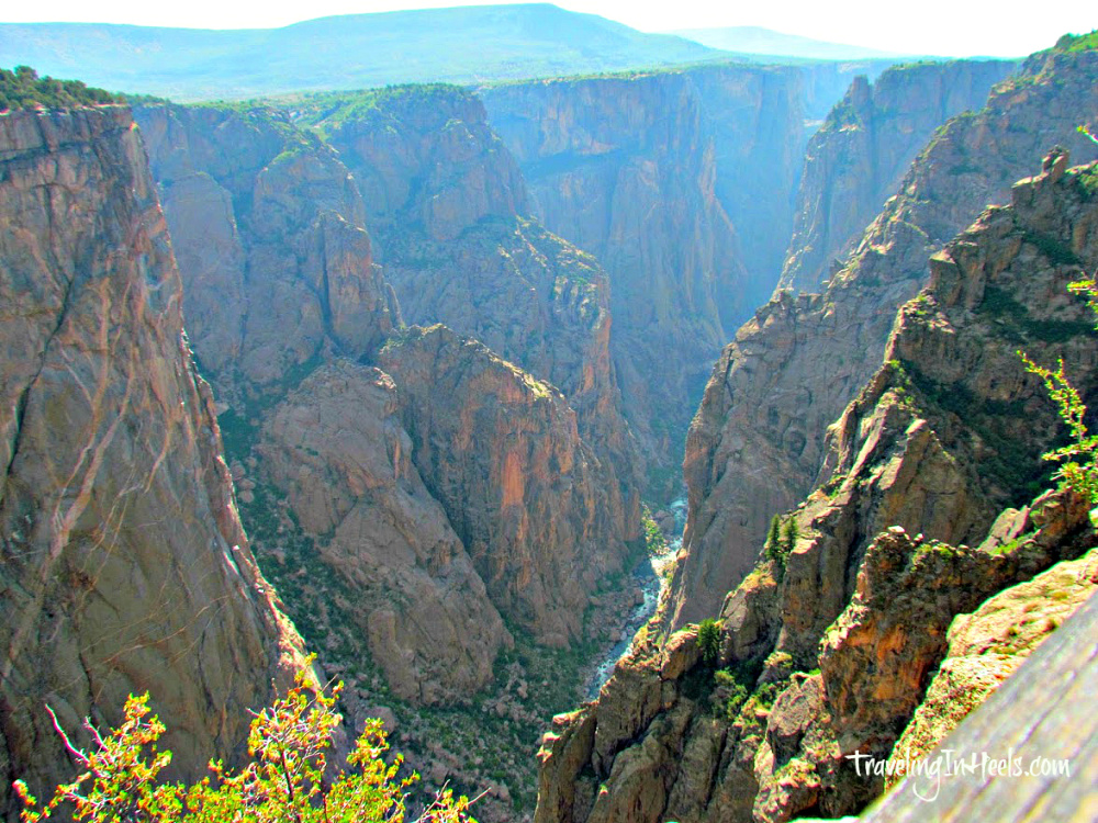 Black Canyon of the Gunnison by Traveling in Heels.
