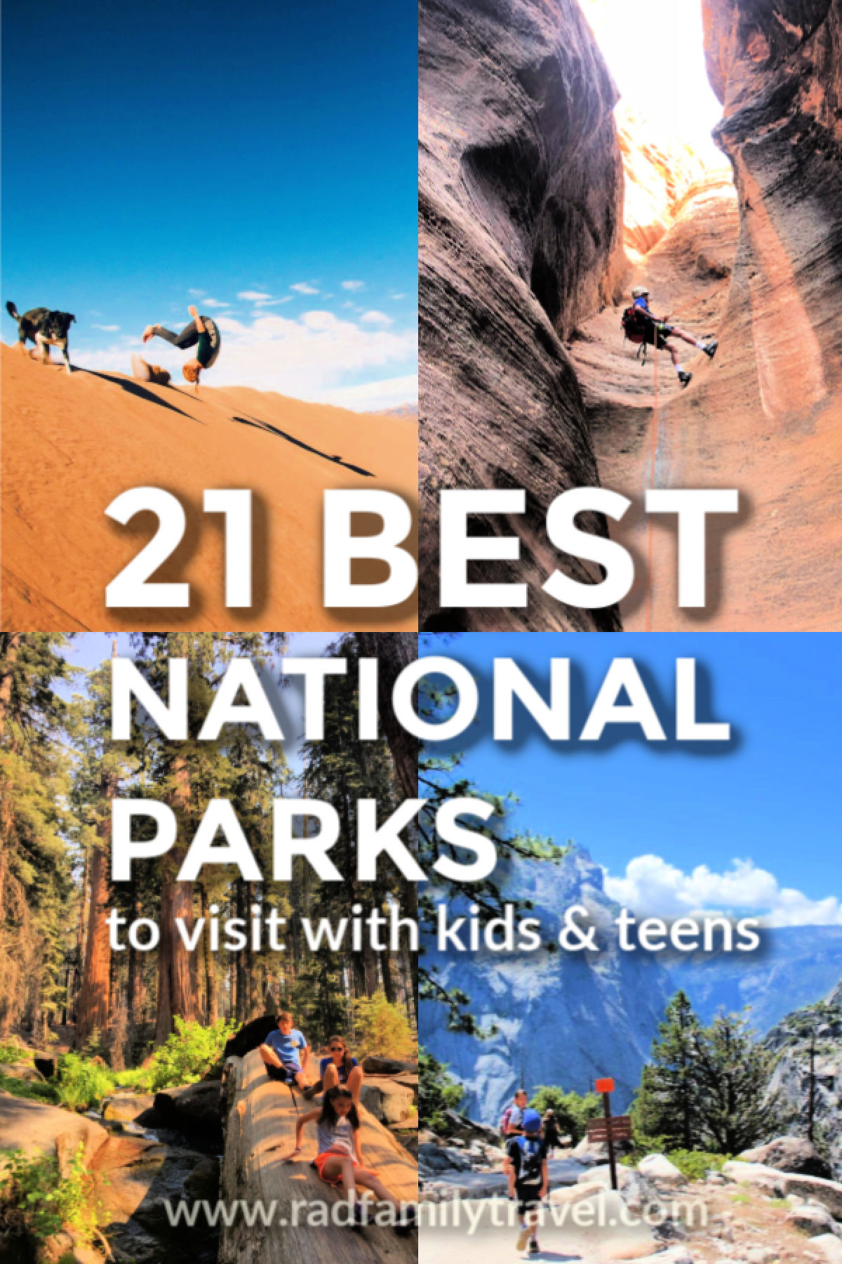 21 best national parks with kids and teens