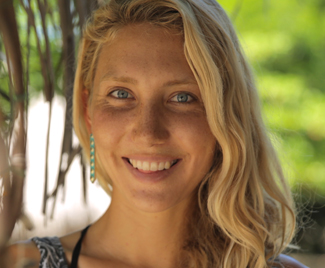 """I CHANGE  perceptions in small-scale fishing villages by engaging local youth to build social-ecological resilience through the power of play and nonviolent communication. ""    – Emi Koch , Founder of  Beyond the Surface International  & Graduate Student, Scripps Institution of Oceanography"