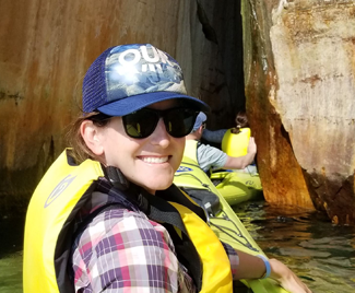 """I CHANGE  by advocating for strong national environmental policy and ultimately enjoying the beauty of nature. ""    – Allison Springer ,  Marketing and Research Associate for The Land and Water Conservation Fund Coalition"