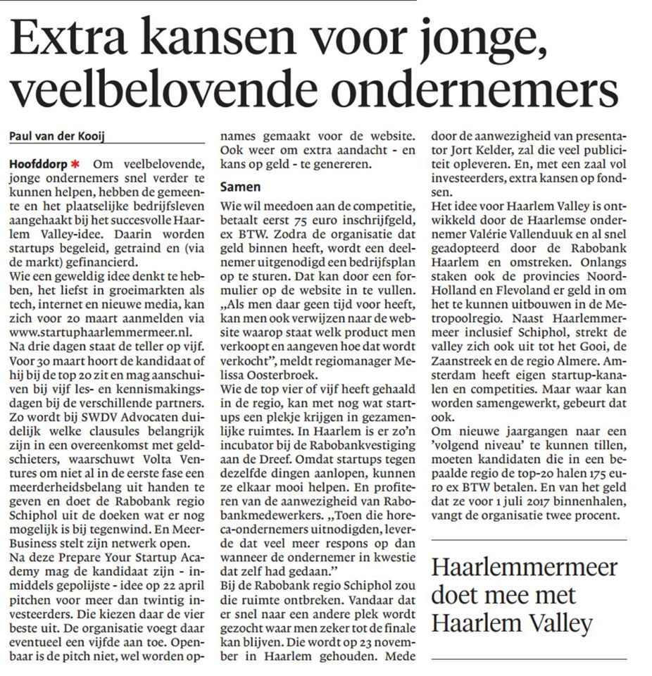 Hoofddorper Courant 03/03/16