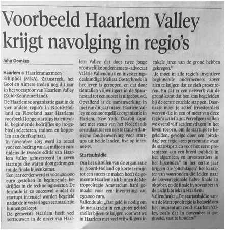 Haarlems Dagblad 13/02/16
