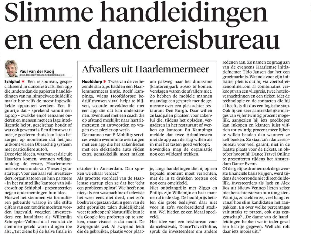 Haarlems Dagblad 23/04/16