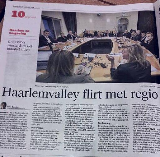 Haarlems Dagblad 13/01/16