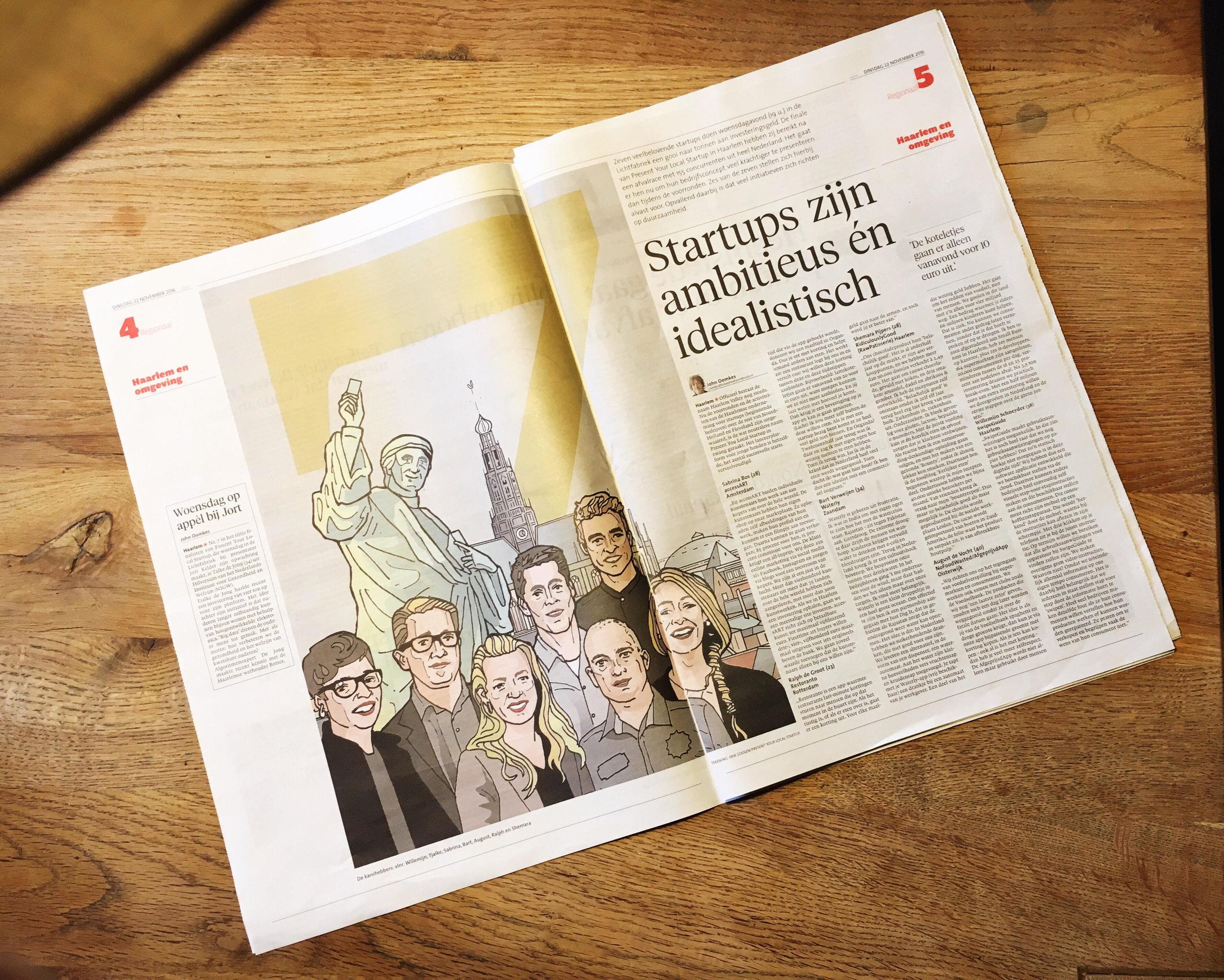 Haarlems Dagblad 22/11/16