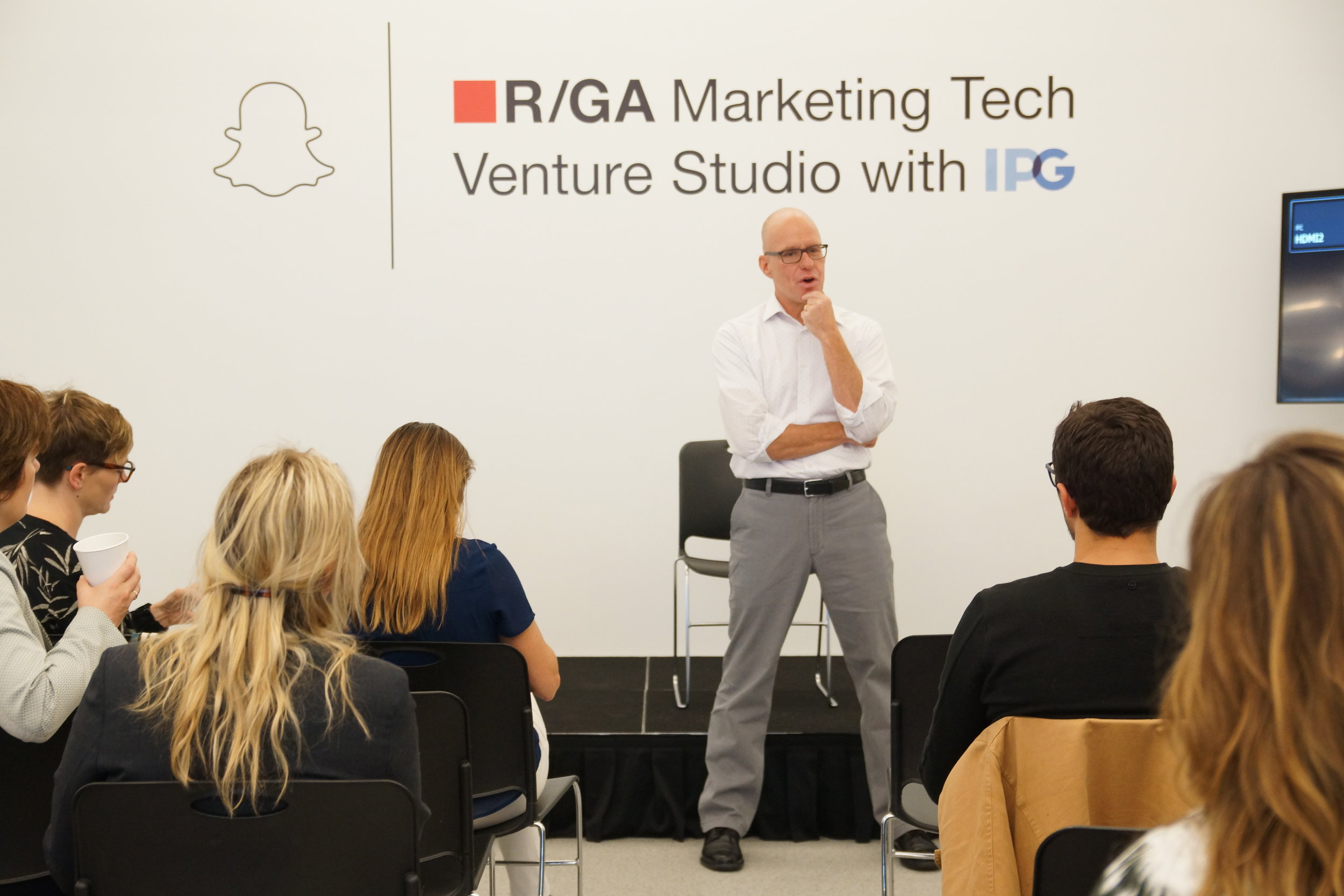 Visit to R/GA and their Marketing Tech Venture Studio