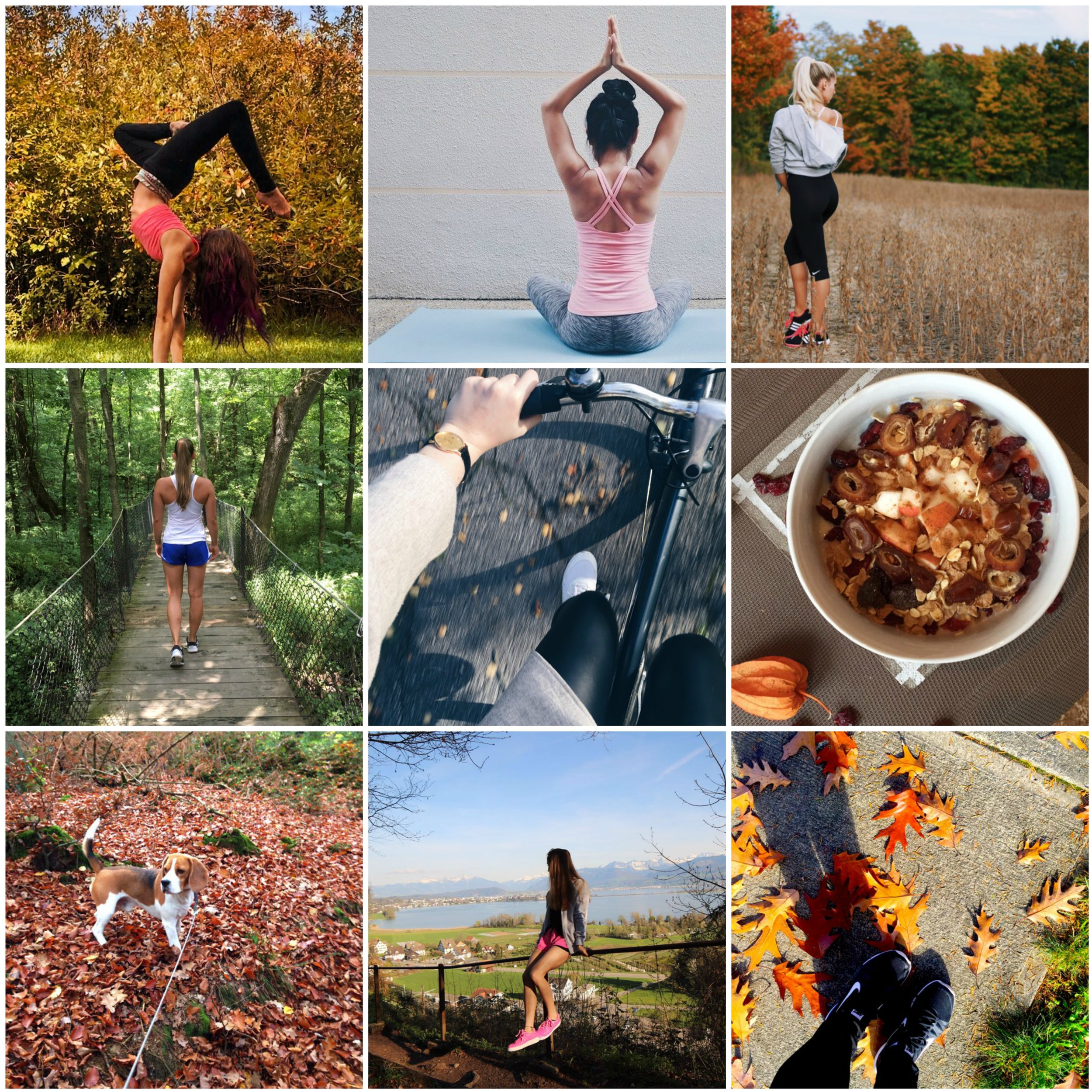 We love seeing #OnTheGoOctober inspiration from our PumpUp community members! From l-r: @meowemy, @fitgirlsdoitbetter, @thenewalexandra, @nina_1911, @annaves, @skyblue1, @juieedo, @fitgirls, and @daniellenicole.