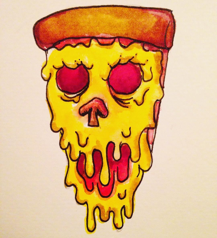 Haunted Pizza