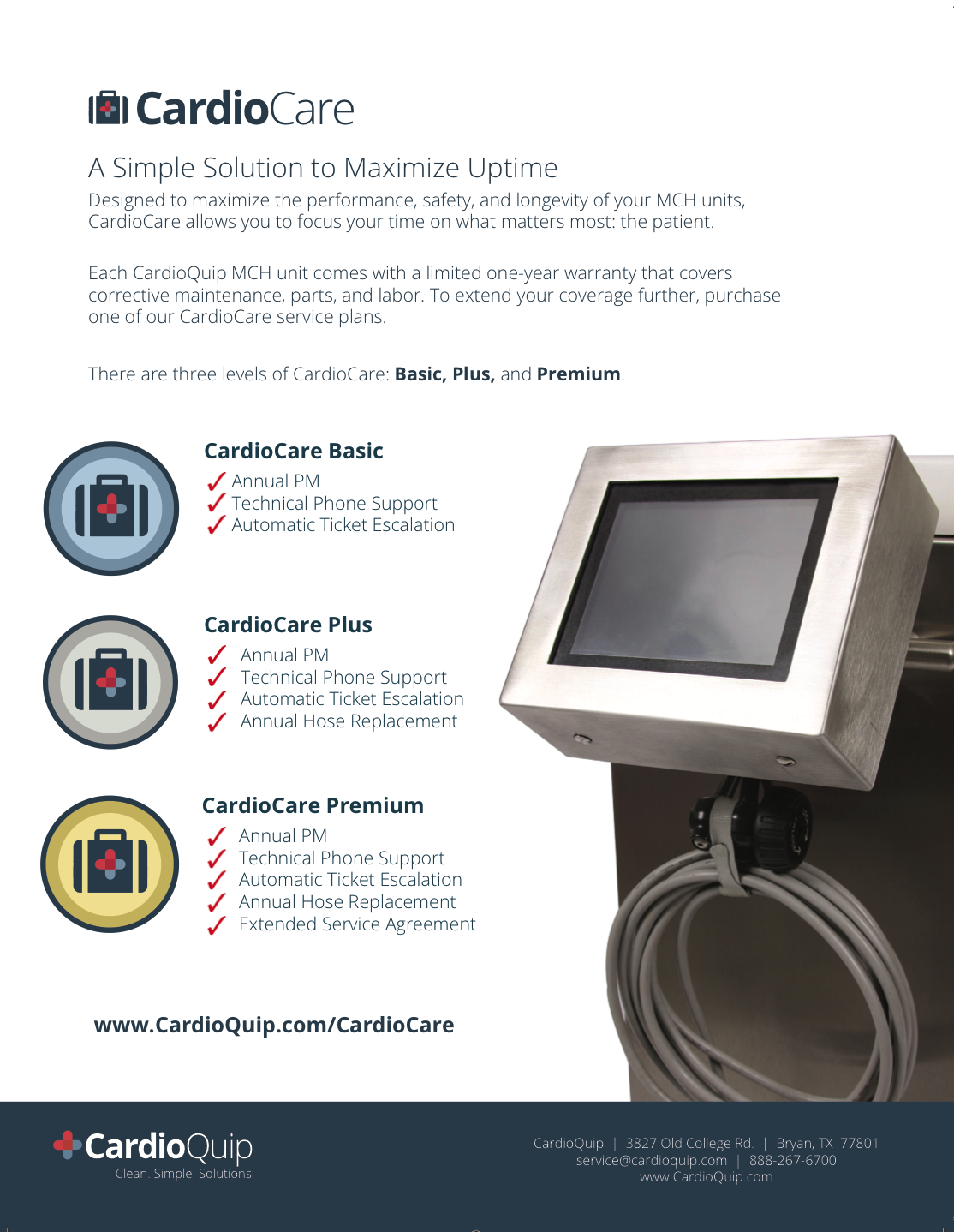 CardioCare One-Pager