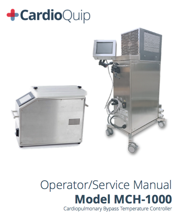 MCH-1000 Operator's Manual