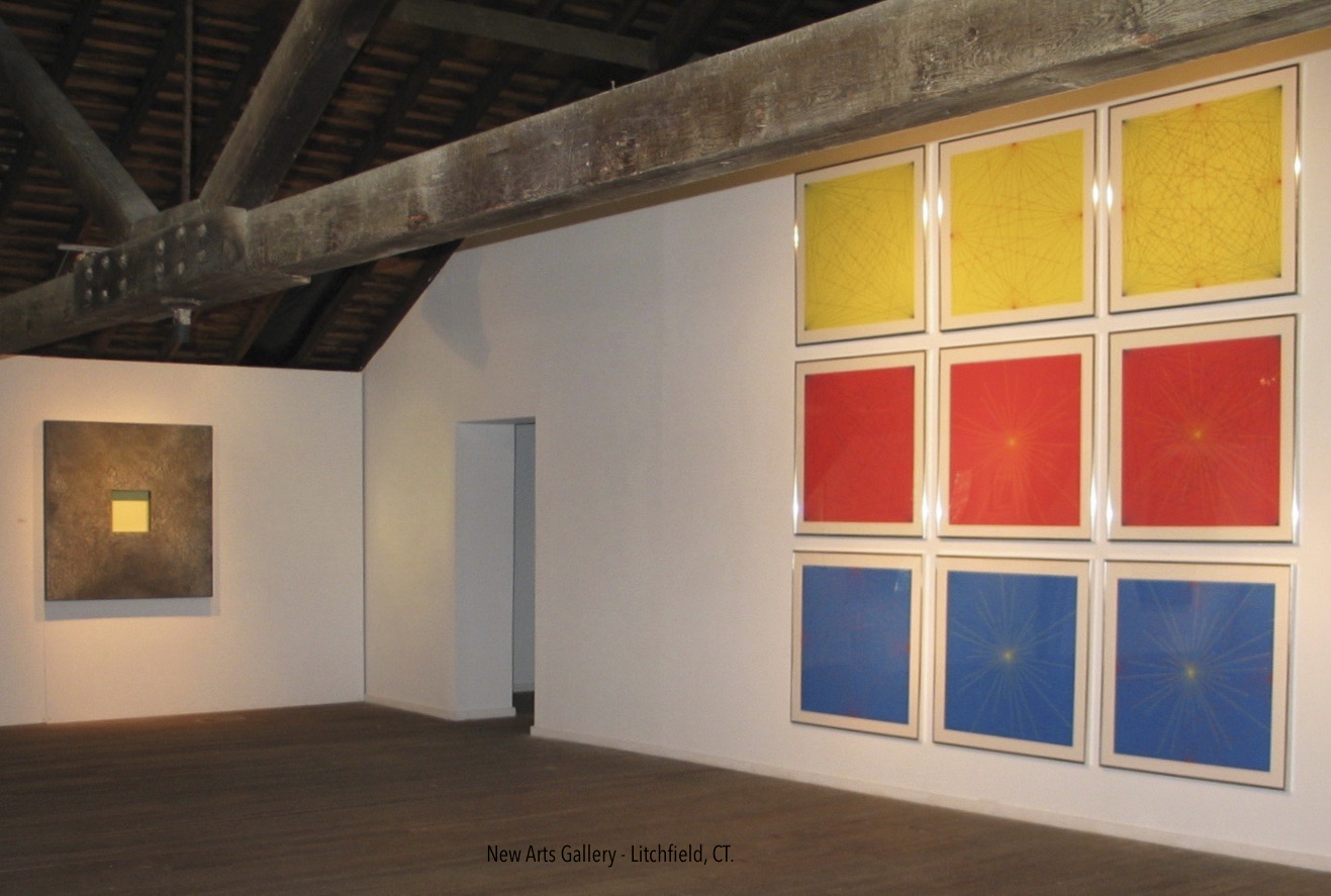 Pamela Stockamore, Installation, New Arts Gallery, (with Le Witt).jpg