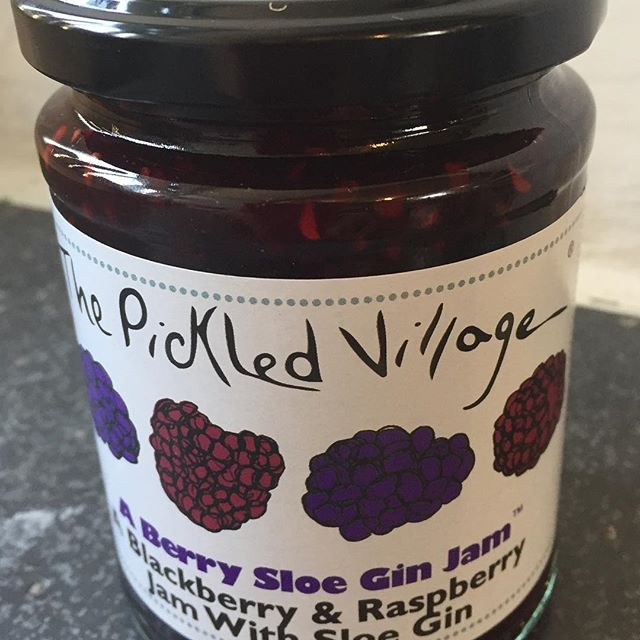 Feisty Friday /Monday with a difference.  Not spicy but a hot favourite.  Like, comment and share to win a jar of this deliciousness.#sloegin #scones&jam #feisty