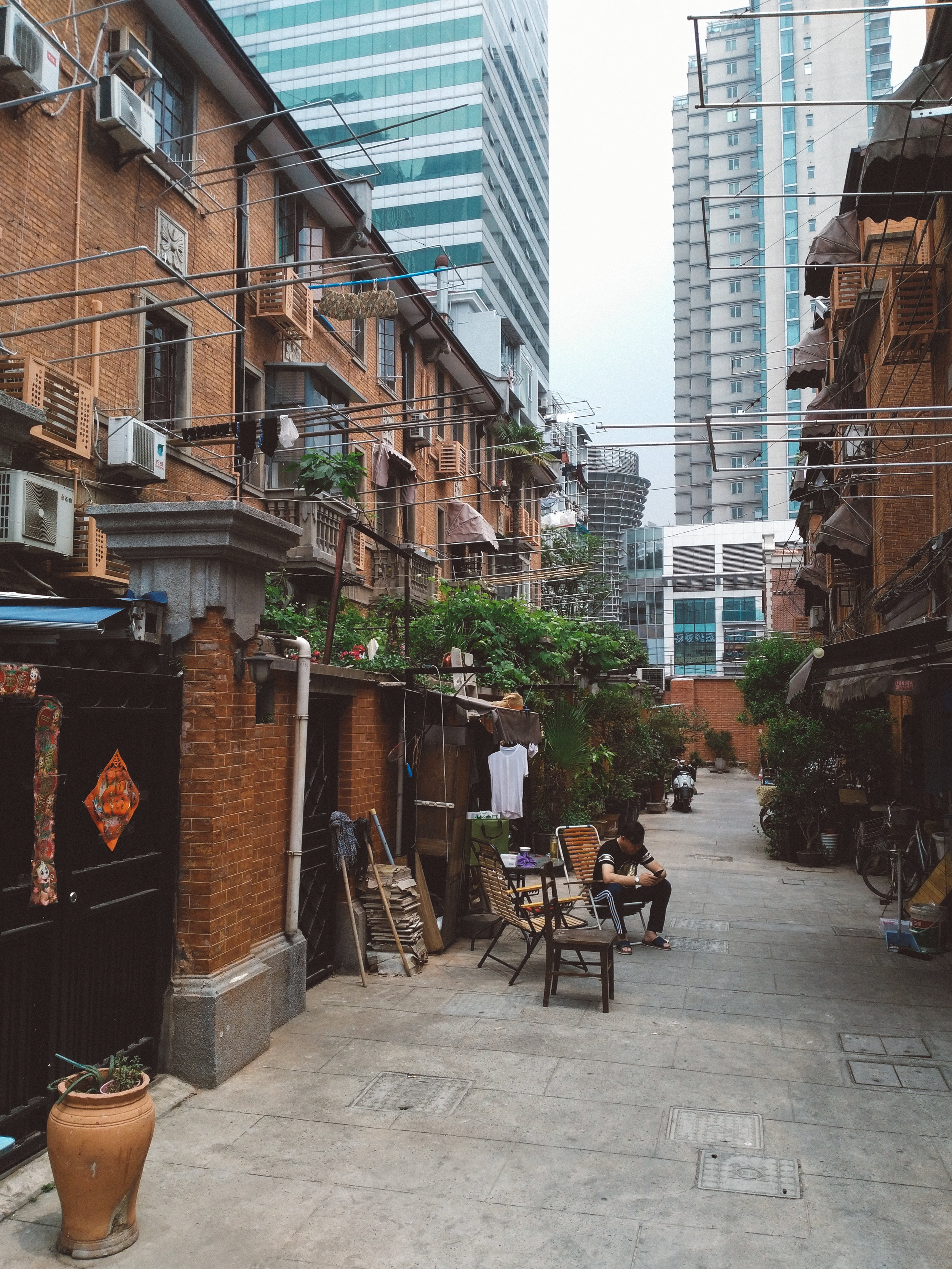 The French Consession; - with its refreshing and relaxed atmosphere, it's my favorite part of Shanghai .