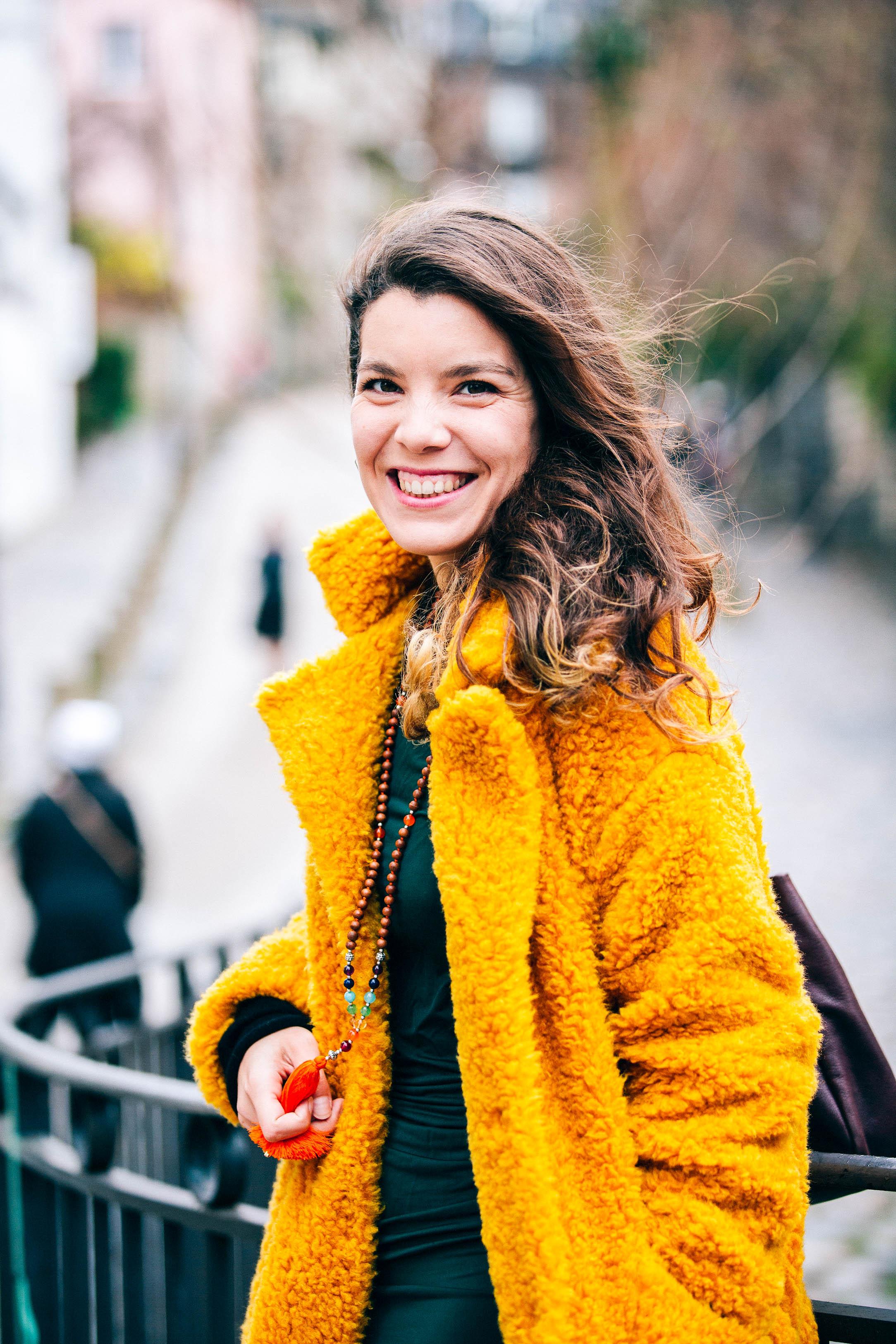 """Une belle démarche - """"Je ne suis pas toujours satisfaite de mon image... mais je me suis trouvée plutôt jolie en photo. C'est vraiment important d'accepter son image pour se sentir bien dans sa peau et prendre confiance en soi. J'aime beaucoup la démarche de ce shooting !""""Marion, Paris - Vintage ⭐⭐⭐⭐⭐"""