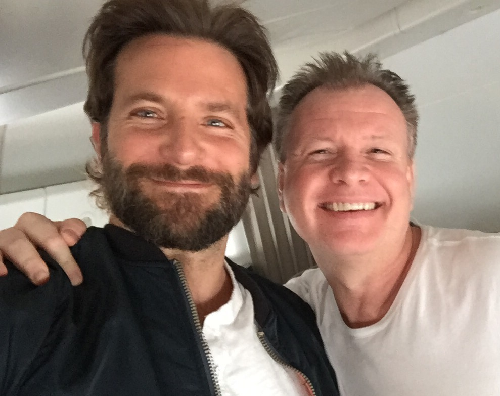 The most gorgeous man on the planet... and Bradley Cooper