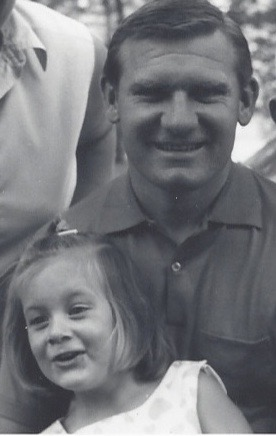 My father, Johnny Wilson, and me.
