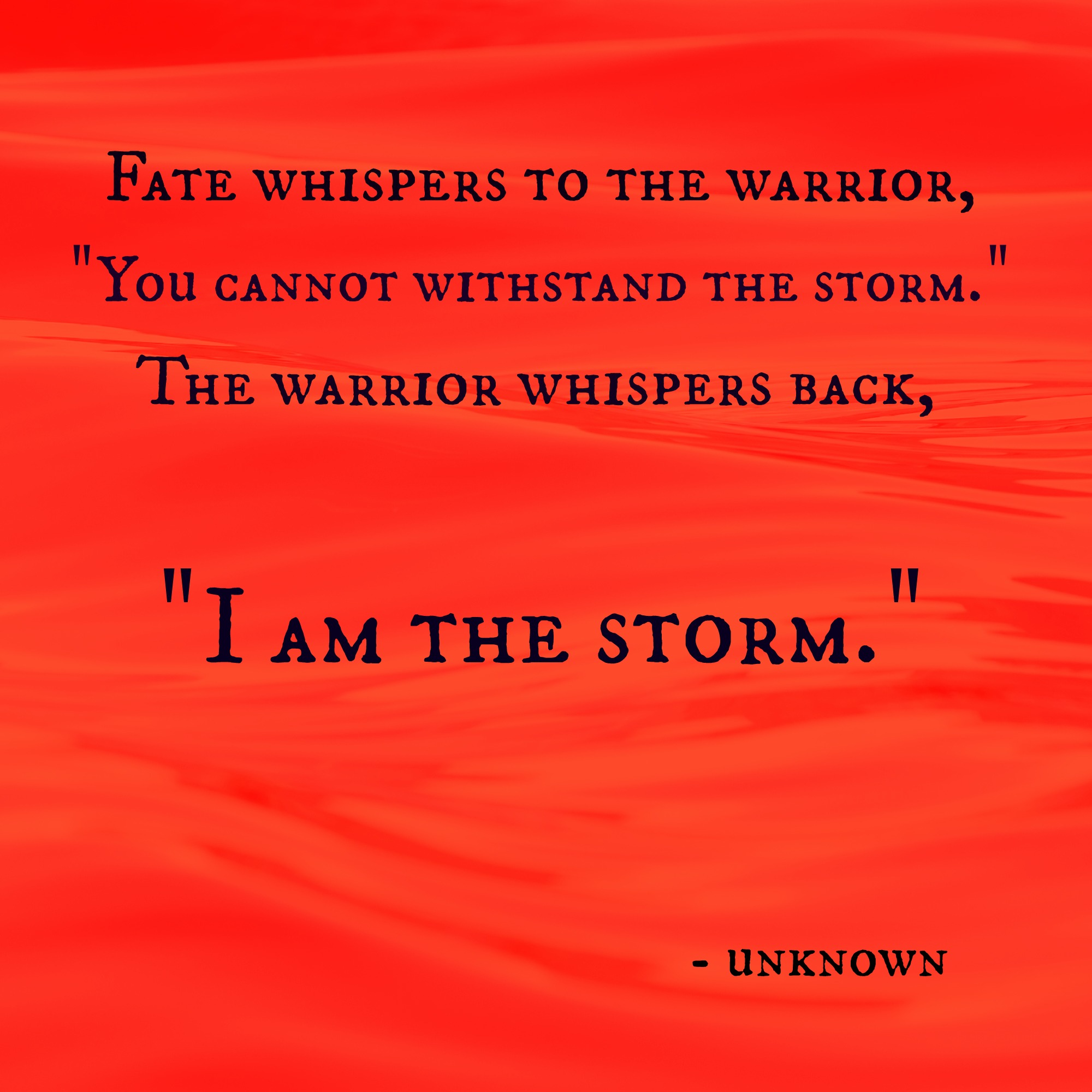 I am the storm.jpg