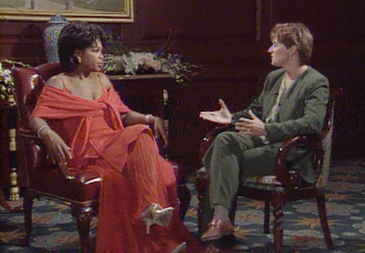 Interviewing Oprah Winfrey