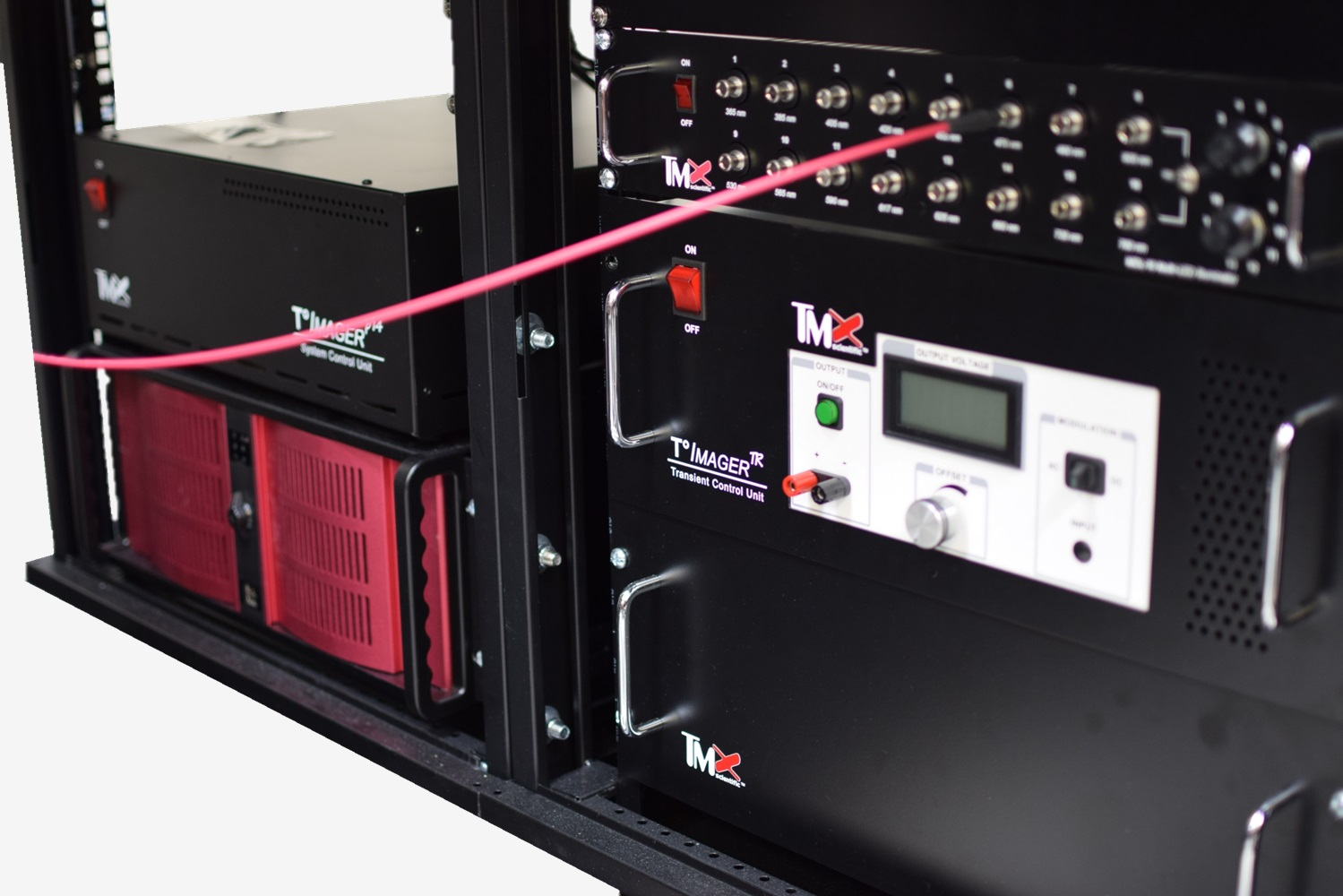 T°Imager Modular Design Contains All Units Within the System Rack Station