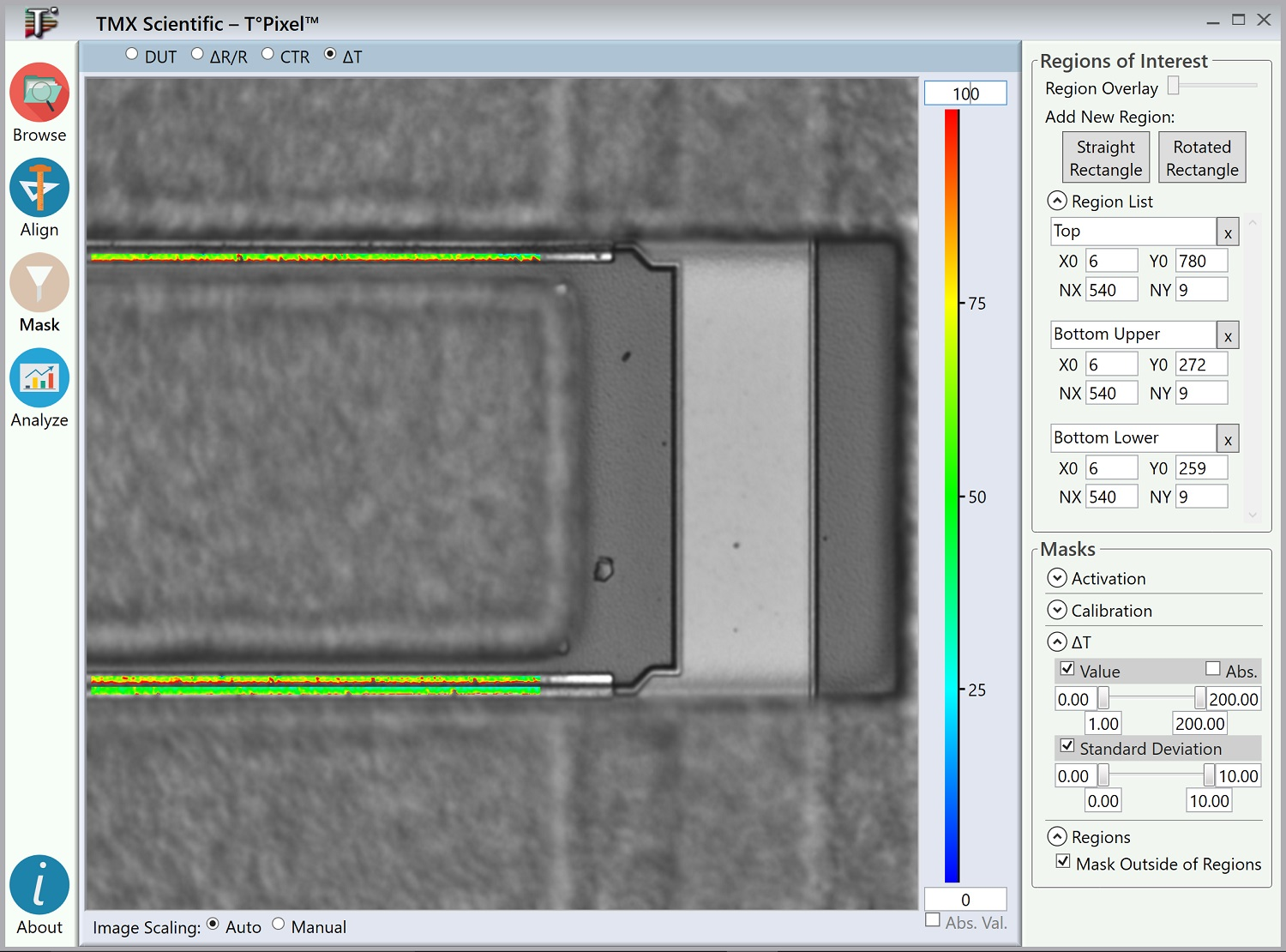 Apply Image Masks to Extract Results from Specific Areas of Interest