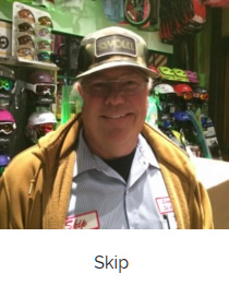 Skip is part Vermonter and part Chicagoan but all Park City!  In his fourth season with Silver Star Ski & Sport, he loves helping everybody get the best equipment a couple days a week!