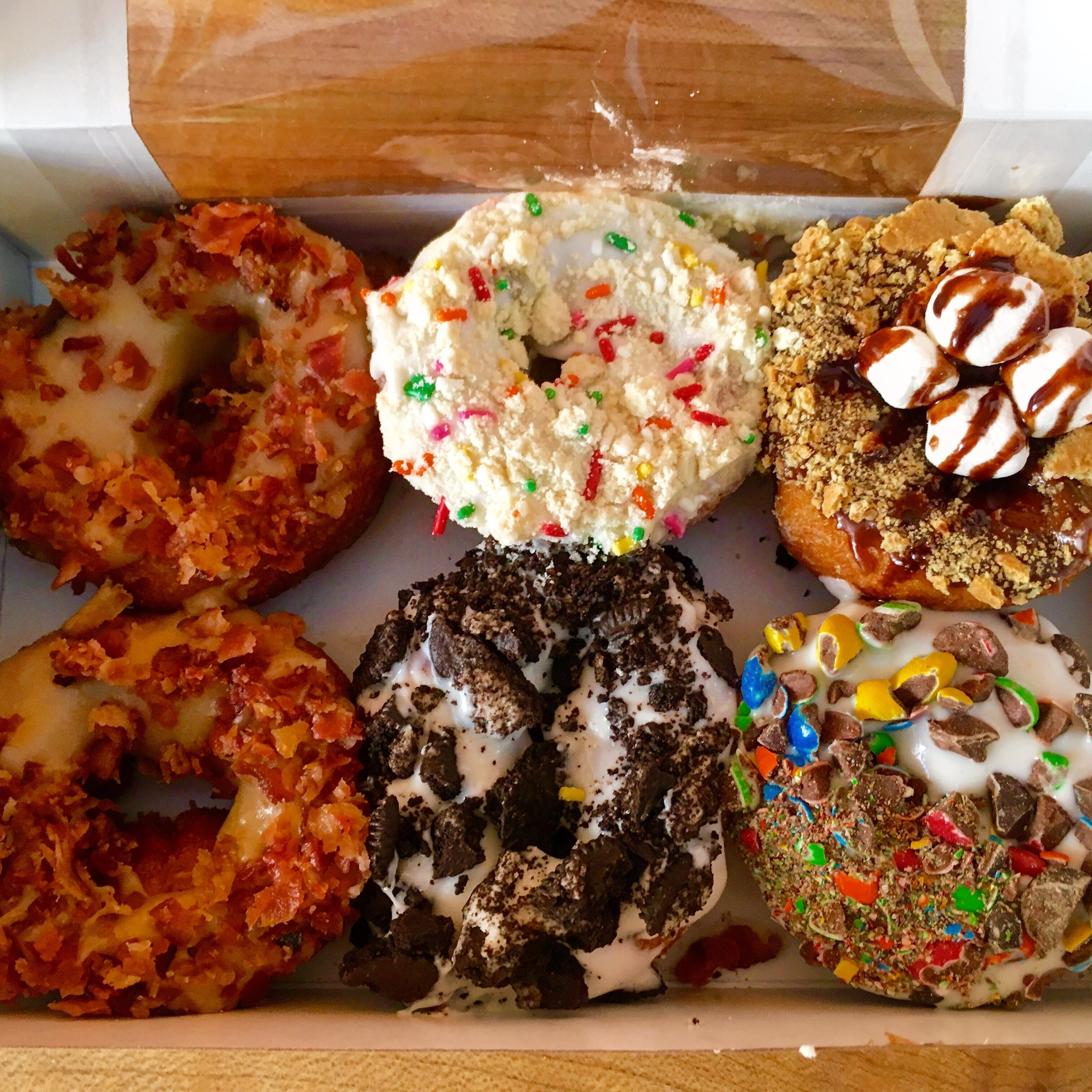 Little Donuts selection