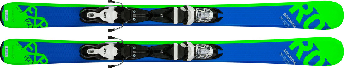 The junior skis this year are the EXP Pro and are avaialble in sizes 70, 80, 92, 104, 110, 116, 122, 128 and 140 cm.