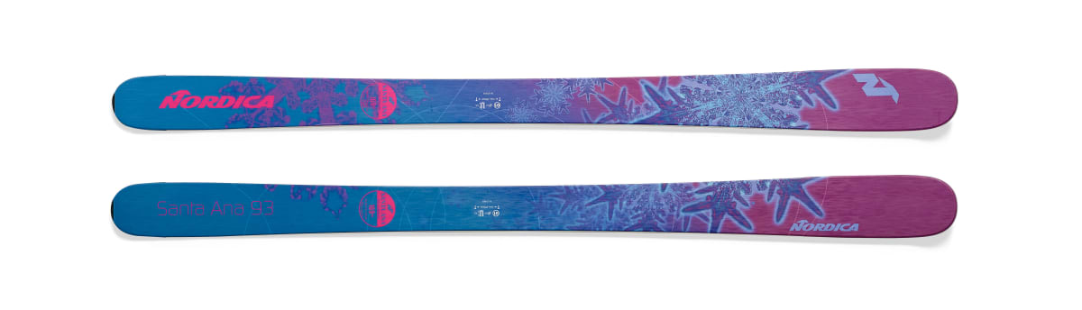 Nordica Santa Ana 93 available in 153cm, 161cm and 169cm
