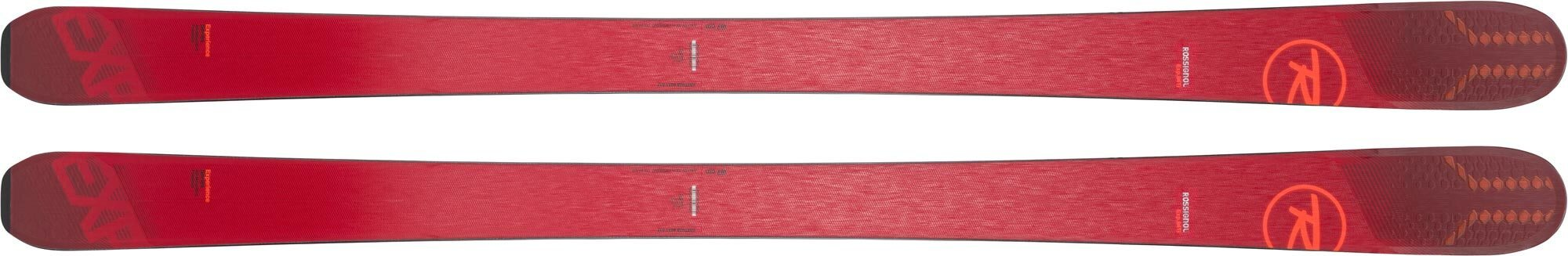Rossignol EXP 100 HD available in 166cm, 174cm, and 182cm