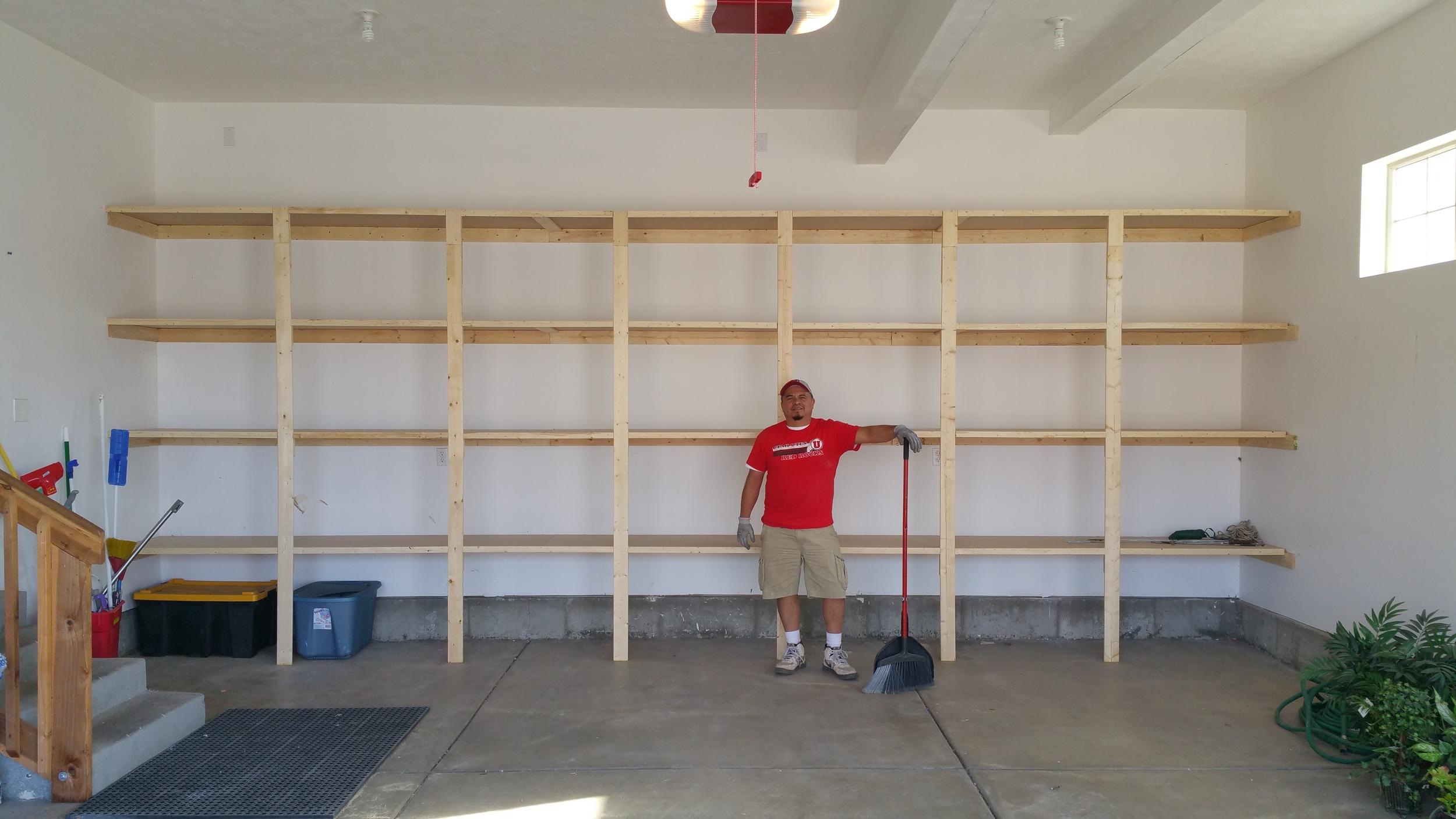 Full Wall Shelving
