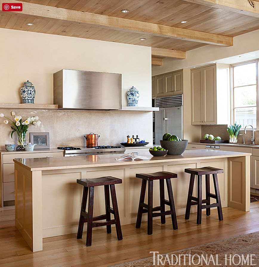 Isn't their kitchen a little surprising also with how much it leans to the modern side?