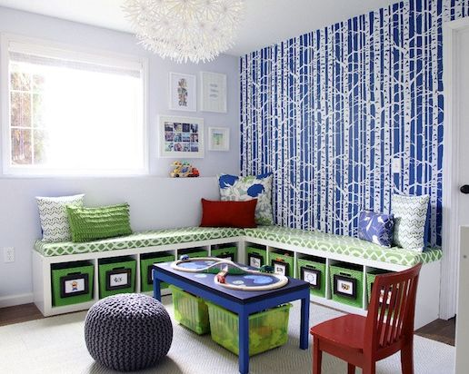 Tubs for toys          via  houseofjadeinteriorsblog