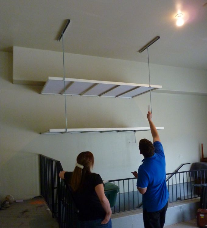 We can install over stairs - double-stacked or any configuration.