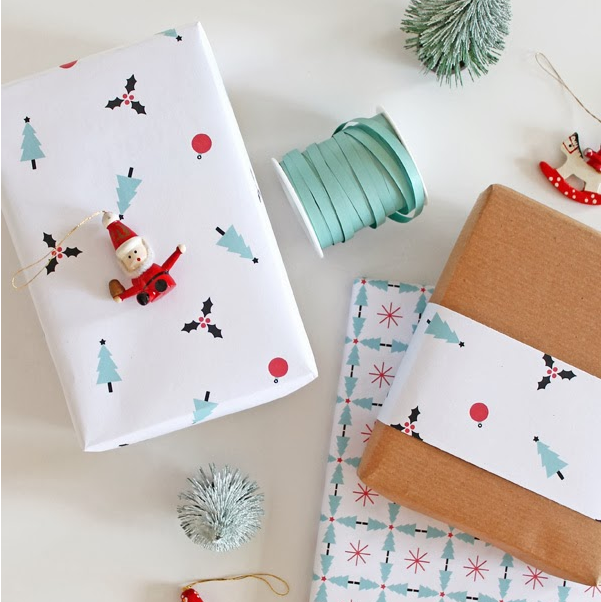 """These 2 adorable papers are from Silvia at Giochi di Carta. She makes it simple with """"Christmas Pattern #1 and Christmas Pattern #2"""" to click on. You can find these  here . Thank you for making it so simple and perfect,Silvia!! Love these papers!"""