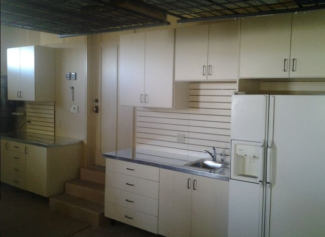 We can custom build any cabinet design to accommadate whatever you need!