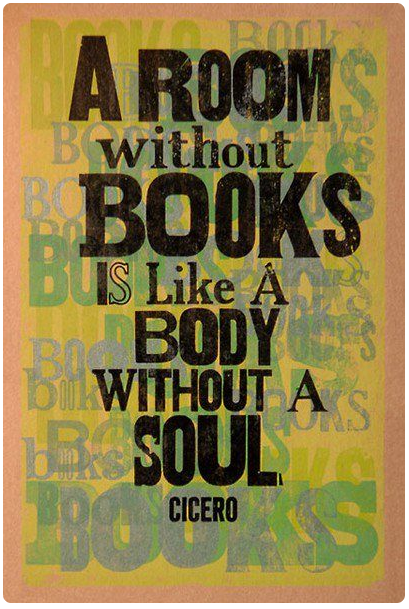 Be forever growing, surrounded by books!!              via