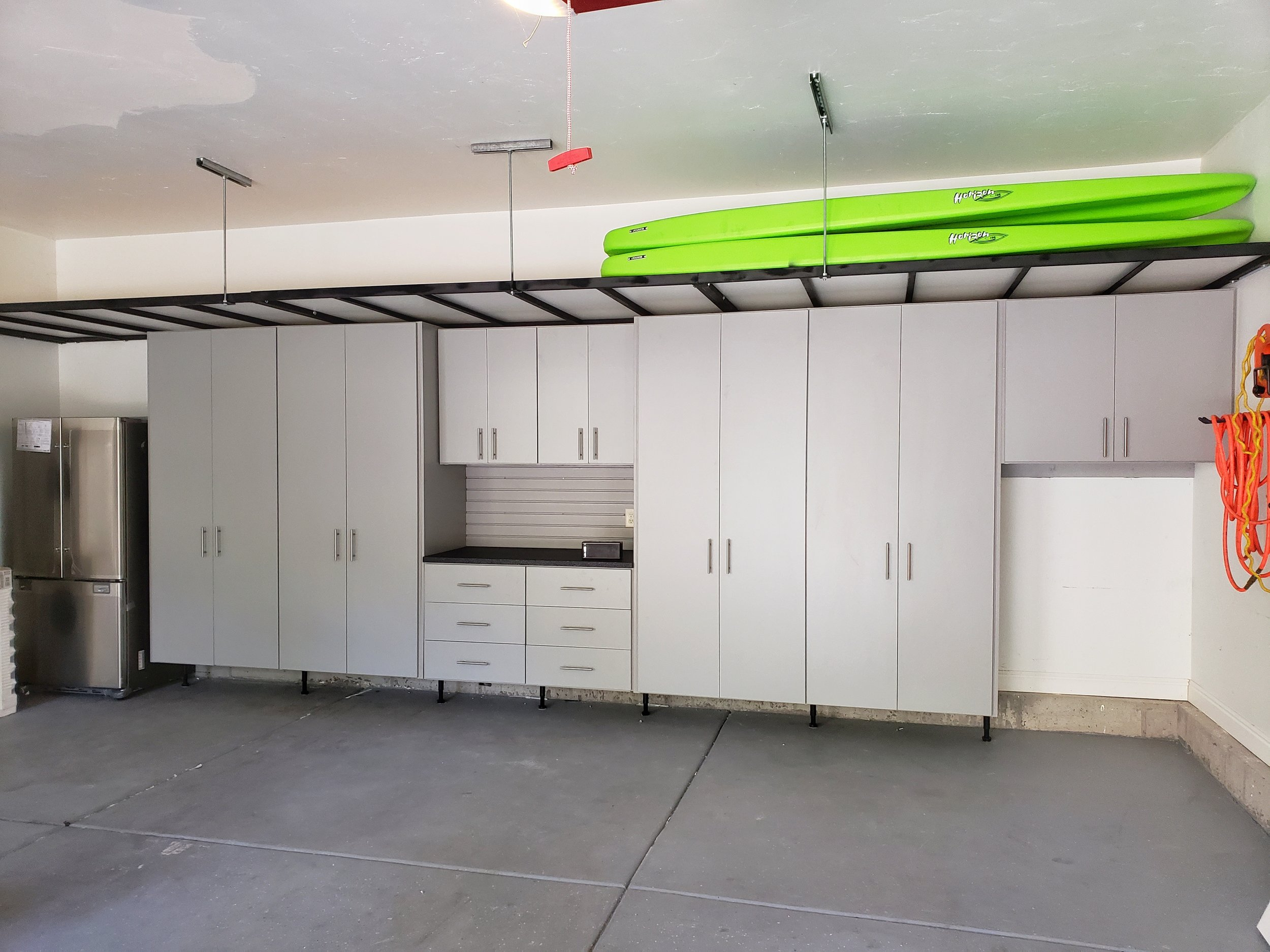 cabinets with overhead